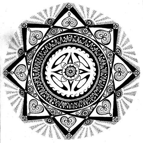 imagenes en blanco y negro de mandalas mandalas blanco y negro imagui