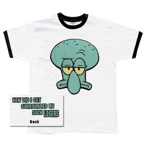spongebob squarepants squidward t shirt