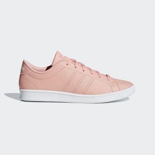 adidas advantage clean qt shoes pink adidas uk