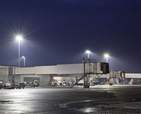 led lighting  airport applications midstream lighting