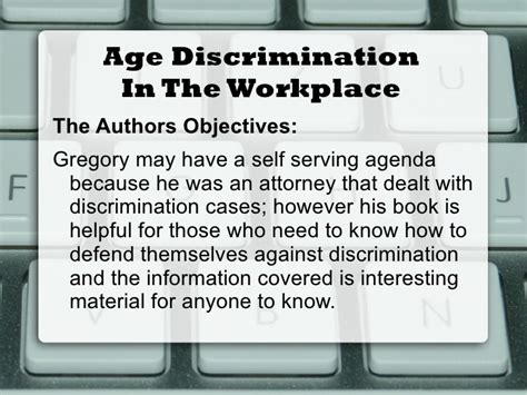 age discrimination powerpoint