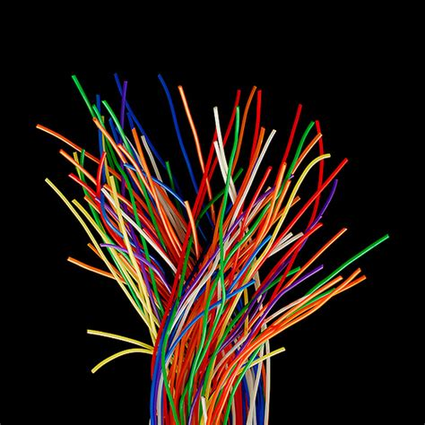 wires colored 500x transitions