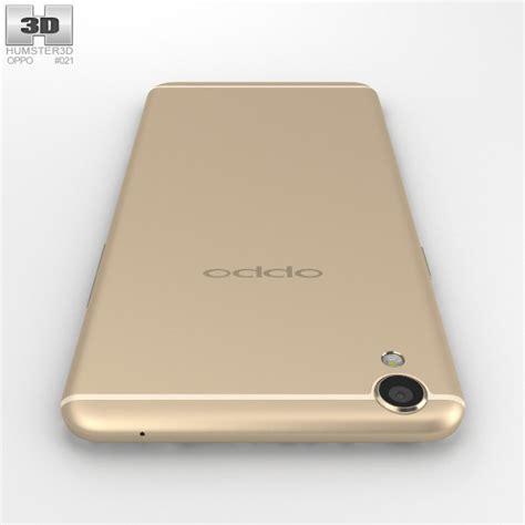 3d Oppo F1 oppo f1 plus gold 3d model hum3d