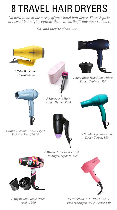 Hair Dryer Carry On Baggage 8 travel hair dryers that will fit in your carry on oh