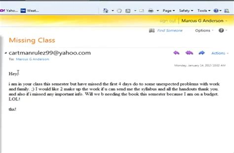 how not to your how to not email your college professor