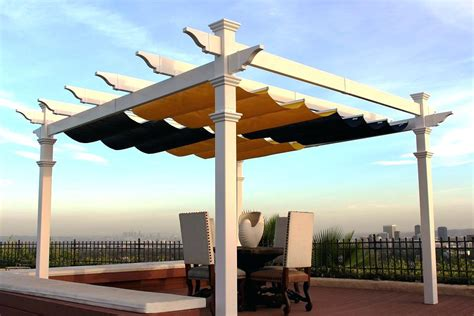 Retractable Pergola Roof Diy Bing Imagesretractable Shade Diy Pergola Canopy