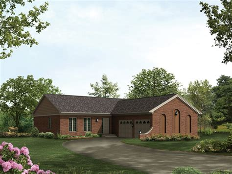 l shaped ranch homes monteray ranch home plan 001d 0071 house plans and more