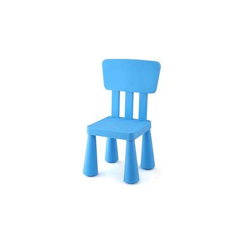 chaise enfant plastique chaise enfant en plastique en vert jaune ou bleu