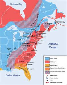 america map 1754 the and indian war from 1754 to 1759 beaver wars