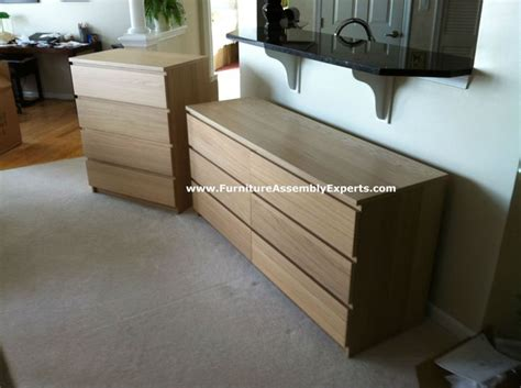 Malm Dresser Assembly by Malm Brown Dresser And Malm Brown Chest Of