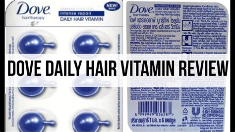 Harga Dove Daily Hair Vitamin dove daily hair vitamin review howto