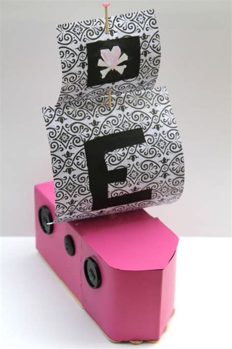 how to make a boat project diy how to make a boat out of a milk carton glitter
