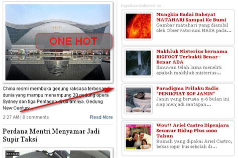 membuat video slideshow keren cara membuat widget slideshow recent post yang keren one hot