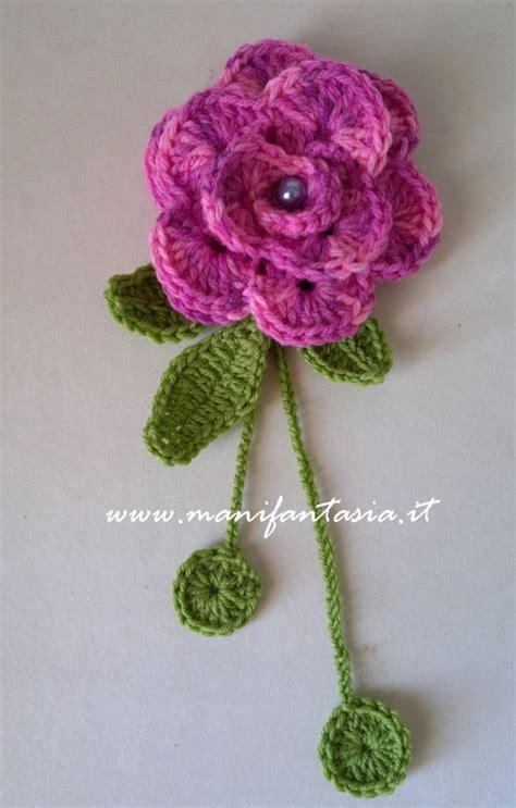 fiori all uncinetto istruzioni uncinetto di tutorial e schemi manifantasia
