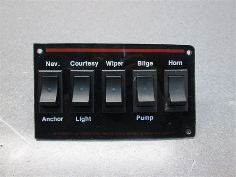 stratos boat switch panel 1988 stratos 1700 xl dash panel switches green bay