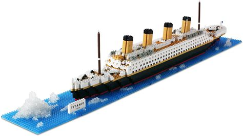 Red White And Blue Kitchen - nanoblock titanic
