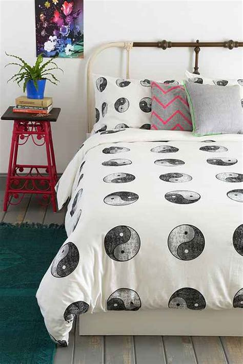yin yang bedroom yin yang duvet cover urban outfitters