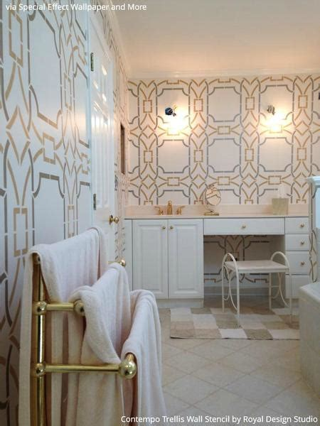 gorgeous bathrooms look from design blogs using 10 bathroom makeover ideas using stencils boring