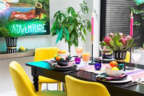 arcade trend colourful interior design ideas