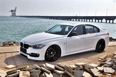 custom white bmw f30 white custom black wheels bmw f30 3 series