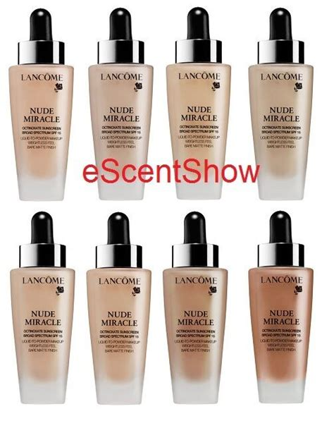 Lancome Matte Foundation nib lancome miracle liquid to powder spf 15 matte