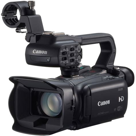 hd professional canon xa25 professional hd camcorder 8443b002 b h photo