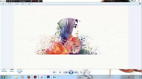tutorial edit foto jadi lukisan cara tutorial edit foto efek watercolor atau seperti