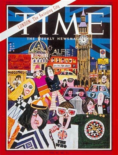 Time Magazine Cover London Apr 15 1966 Great Britain