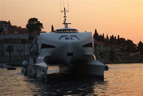 catamaran ferry krilo from dubrovnik to korcula catamaran krilo jet korculainfo