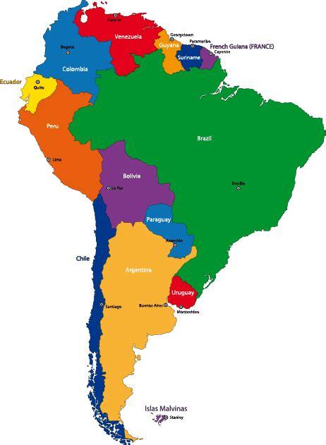 imagenes de mapa sudamerica mapa pol 237 tico de sudam 233 rica vector vector clipart