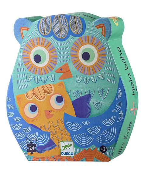 Owl Hello hello owl silhouette puzzle the gift gift ideas