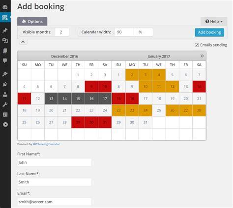 Booking Calendar Booking Calendar Plugins