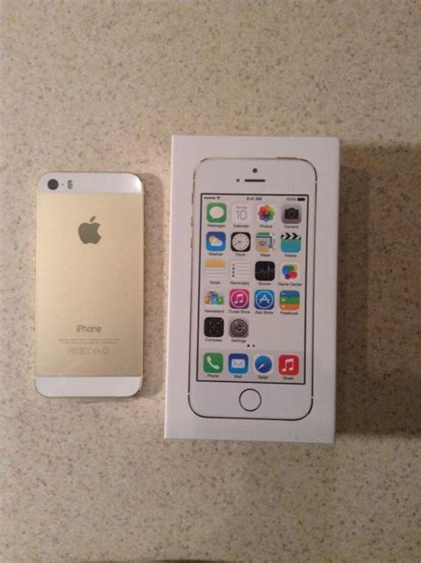 Hp Iphone 5 S 32gb iphone 5s 32gb gold version new
