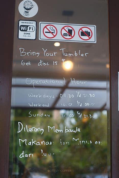 ompugende coffee memadukan kopi modern  budaya lokal majalah otten coffee