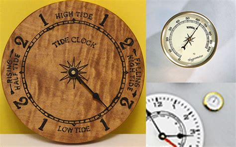 Tide Clock Movements and Weather Instruments   Bear Woods