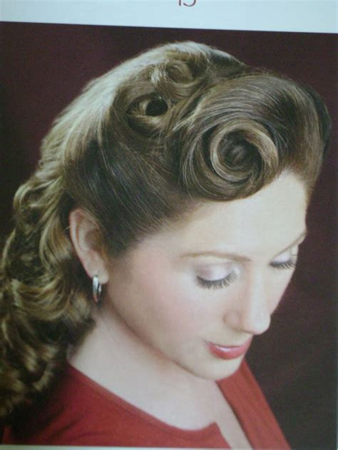 40s hairstyles pin curls 17 best images about hair and makeup on pinterest 40s