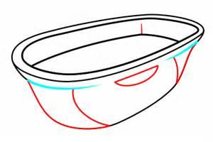 drawing a bathtub