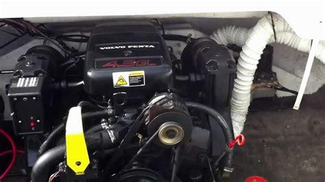 7 4 gi volvo penta engine volvo penta 4 3gl 2001 engine run