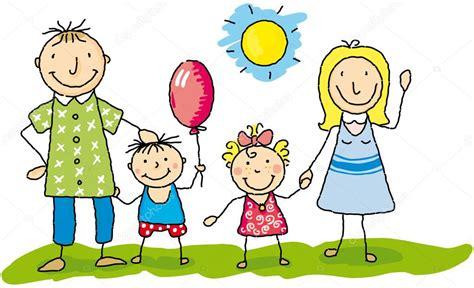 family  happy stock vector  tintin
