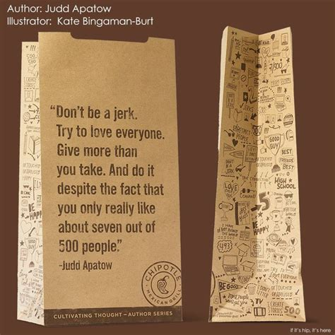 Cultivating Thought Student Essay Contest by Judd Apatow Qoute From Chipotle S Cultivating Thought By Printings Essays And On Cups