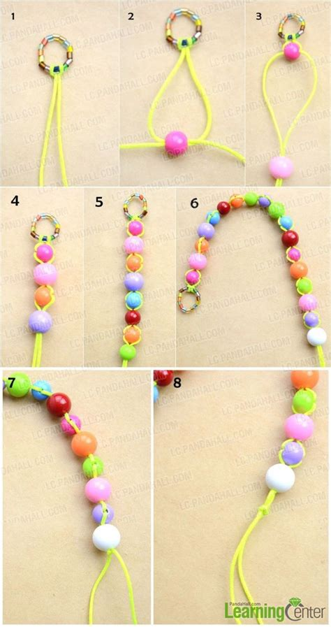 Bead Jewelry For Beginners How To Make Cord