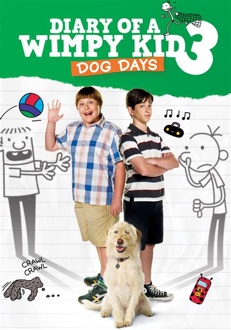 diary of a wimpy kid movies wimpy kid diary of a wimpy kid dog days movie fanart fanart tv