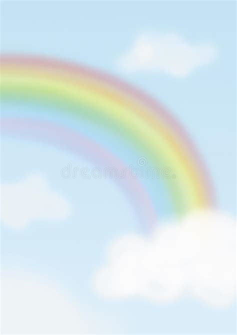 rainbow background stock illustration illustration