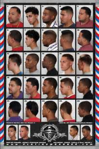 black hairstyles chart fadesincuts