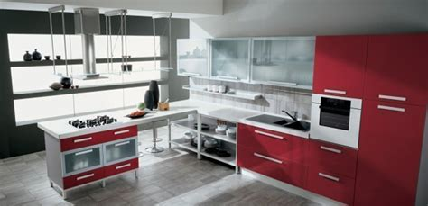 red and white kitchen design awesome modern red kitchens design kitchen design ideas