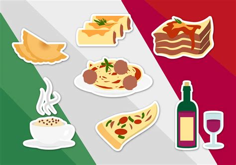 food vector italian food illustrations vector download free vector