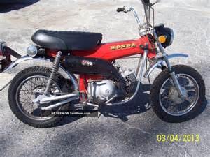 Honda St90 1973 Honda St90 90cc 3 Speed Trans Auto Clutch