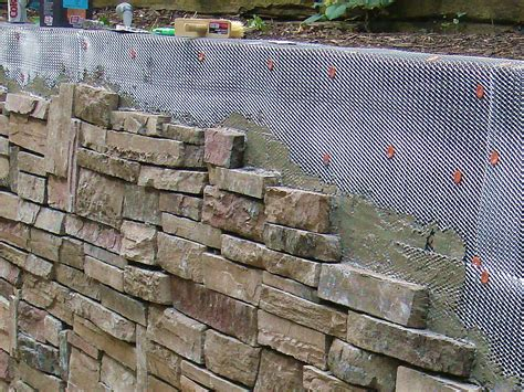 How To Cover A Stone Wall How Tos Diy Garden Wall Covering