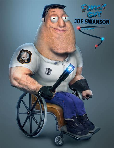 Joe Swanson Meme - joe swanson real life family guy by stranger9205 on