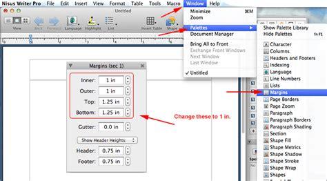 format margin word skripsi mla format using nisus writer pro mla format